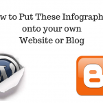 How to Put These Infographics onto your Website or Blog