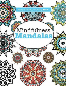 Mindfulness Mandalas meditation colouring book - Types of meditation - PsychicStudent.com