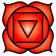 Root Chakra symbol - Chakra Meanings and Colours - PsychicStudent.com