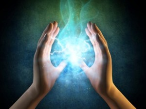 Aura healing is achieved by meditation and visualization.