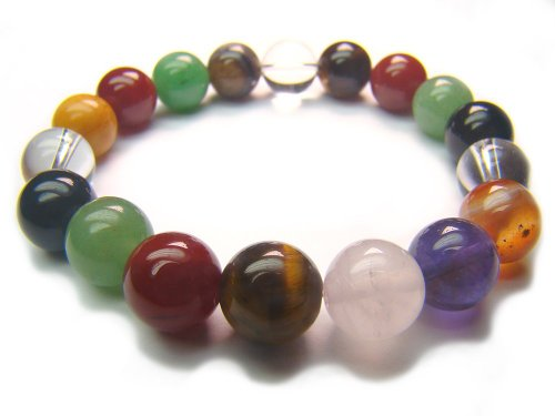 Wearing a bracelet of chakra stones can help to keep your chakras balanced
