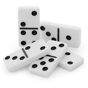 dominoes are used for divination