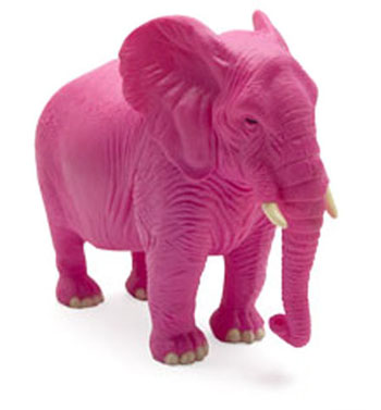 If someone says don't think of a pink elephant, what's the first thing you think of? - Meditation for Beginners - PsychicStudent.com