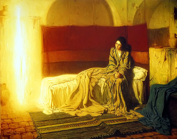 Annunciation by Henry Ossawa Tanner 1898