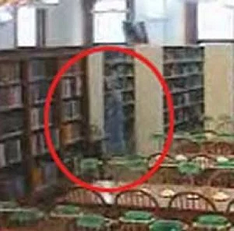 Ghost caught on Willard Library Ghost Cam