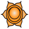 The symbol for the Solar Plexus Chakra - Chakras meanings and colours - PsychicStudent.com