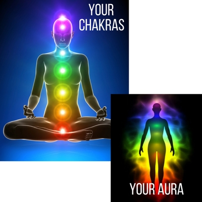 how your chakras and auras reflect each other