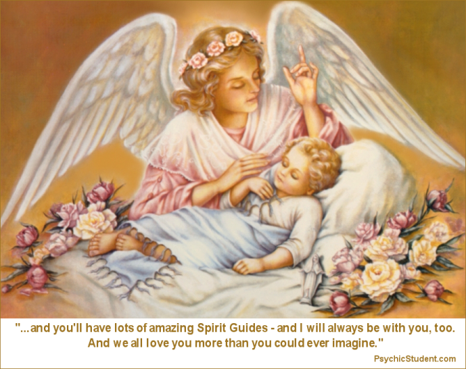 Your Guardian Angel is not your Spirit Guide and your Spirit Guide is not your Guardian Angel - Spirit Guides 101 - PsychicStudent.com