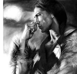 handsome native american